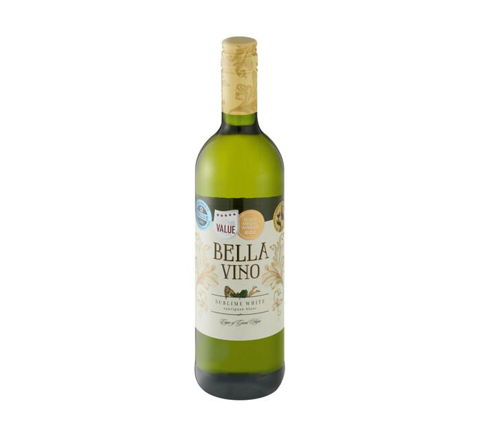 Bella Vino Sublime White Sauvignon Blanc NV (1 x 750ml)