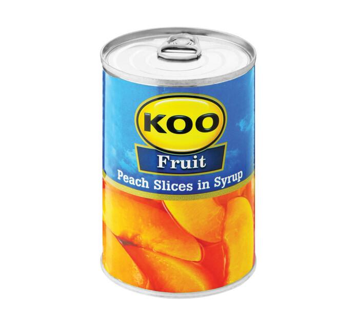KOO Peach Slices (1 x 410g)
