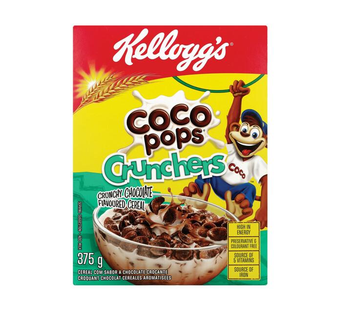KELLOGG'S COCO POPS 375G,CRUNCHERS