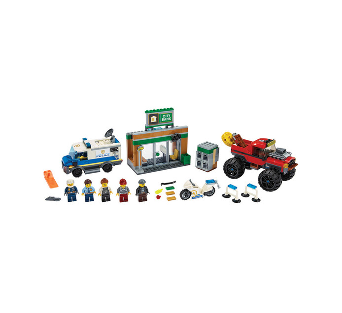 LEGO CITY POLICE MONSTER TRUCK HEIST