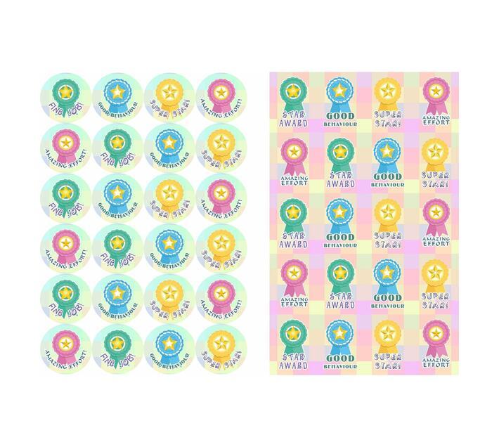 Redfern Self-Adhesive Award Stickers (A5)