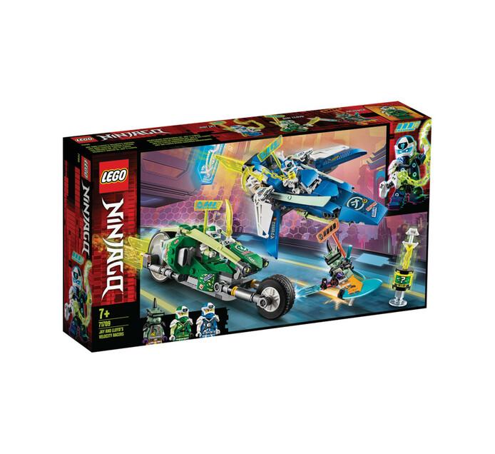 LEGO NINJAGO JAY AND LLOYD'S RACERS