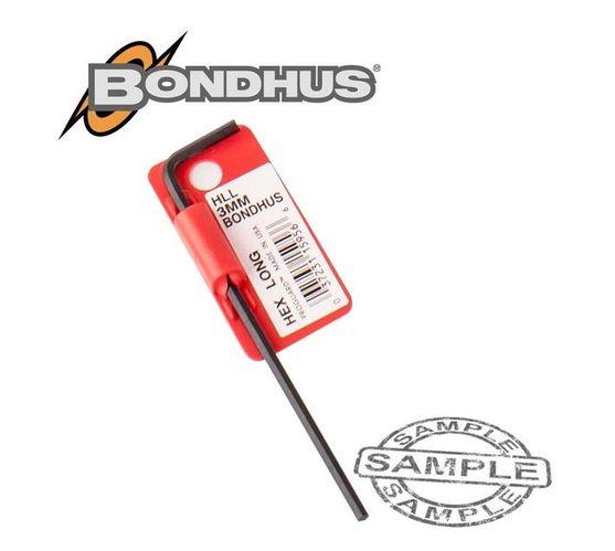 HEX END L-WRENCH 3.0MM PROGUARD SINGLE BONDHUS