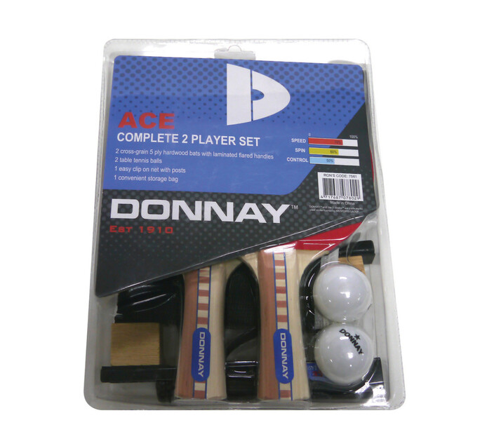 Donnay 2 Player Ace Complete Set