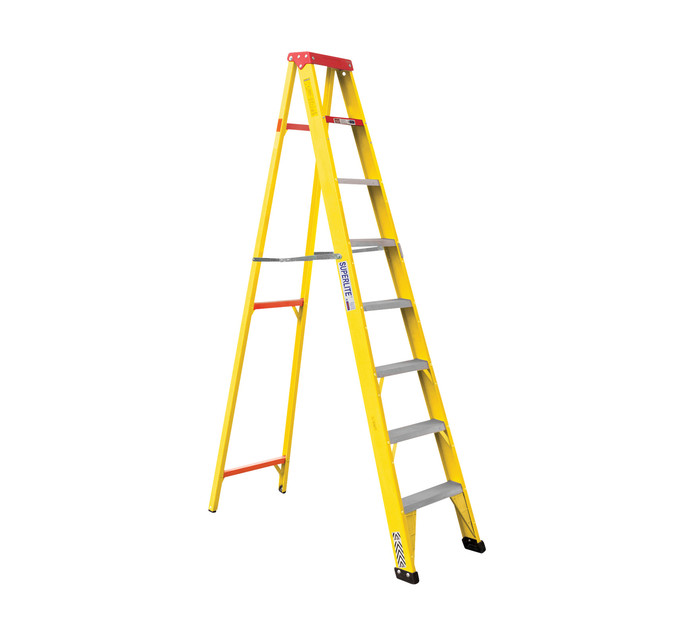 Gravity 2.4 m 8-Step Fibreglass Ladder