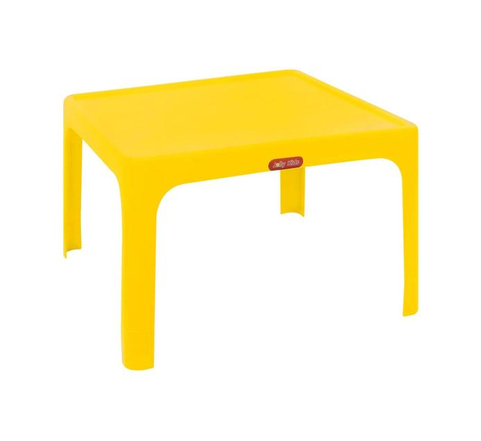 Jolly Large Childrens Table Yellow
