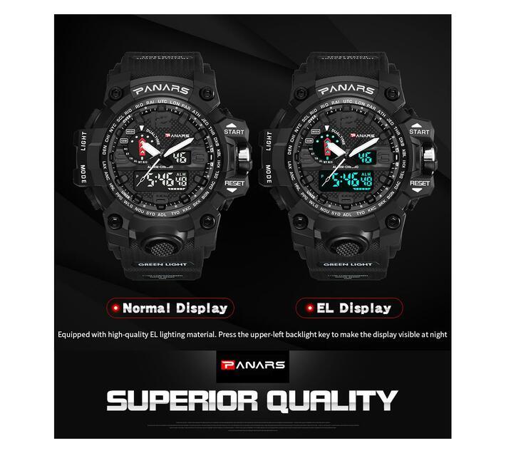 PANARS Multi-functional Sport Digital Watch -Green