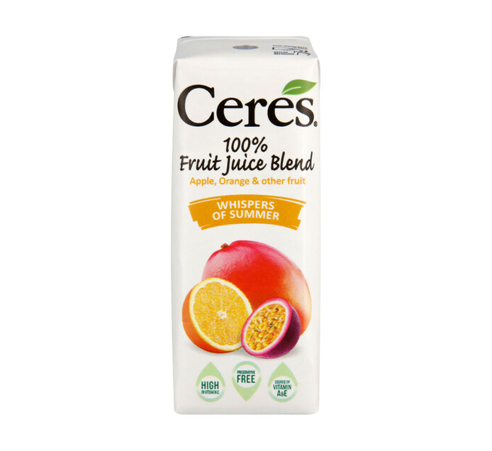 Ceres Fruit Juice Whispers Of Summer (24 X 200ml)