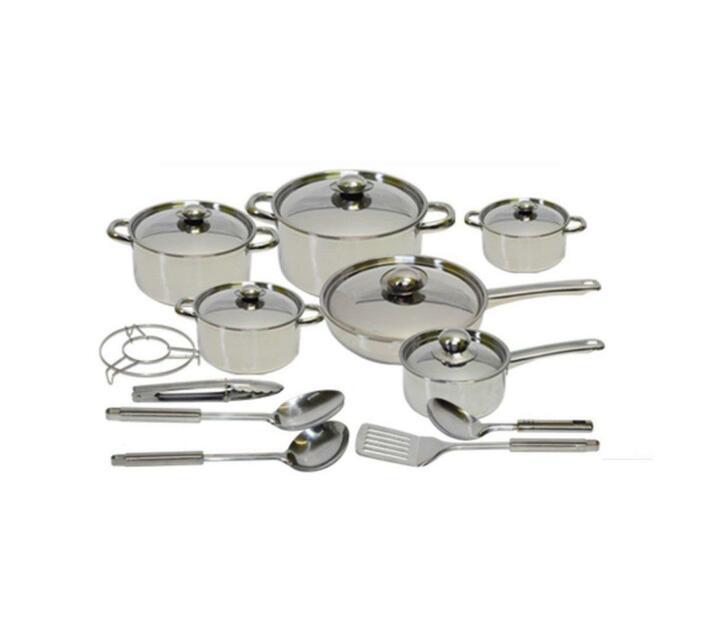 Chukbok 18 Piece Stainless Steel Cookware