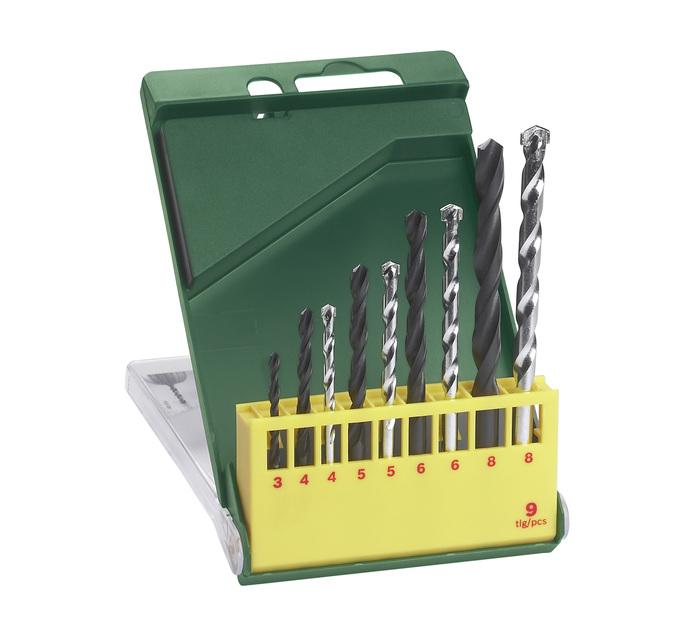 Bosch 9 PC Drill Bit Sets