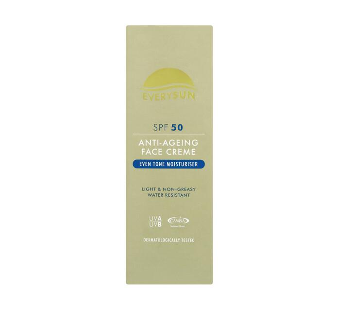 EVERYSUN Anti-Ageing Face Cream Spf 50 Spf50 (1 x 50ml)