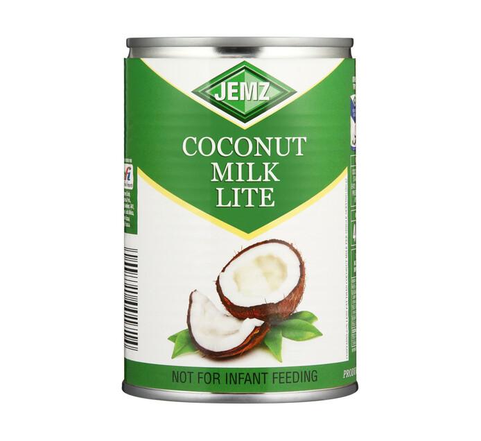Jemz Coconut Milk Coconut Light (1 x 400ml)