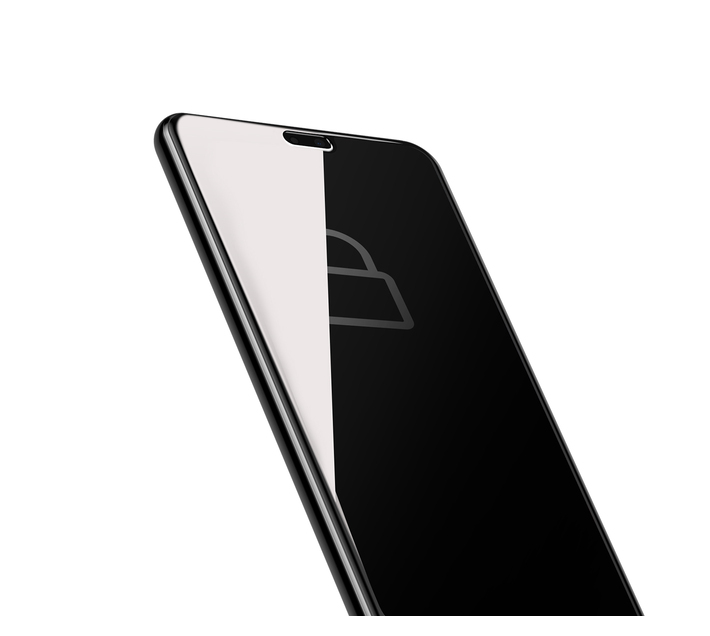 Baseus 0.3mm Privacy Curved Glass Screen Protector for Huawei P20