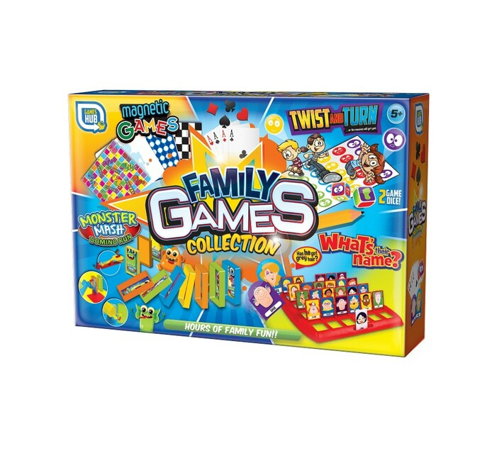 Games Hub Family Games Collection