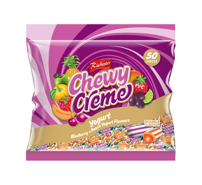 Richester Foods Chewy Creme Chews Yogurt (1 x 50's)