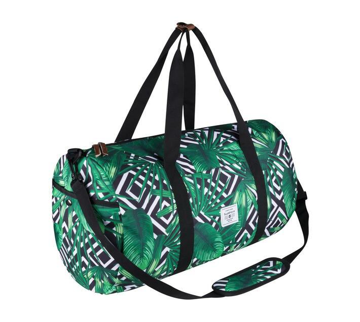 SupaNova Kate Series 56cm Duffel Bag in Green with Adjustable Shoulder Strap