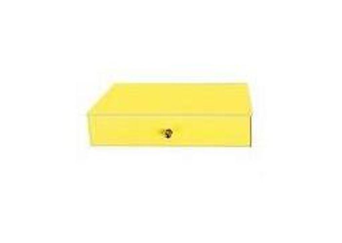 Single drawer-yellow