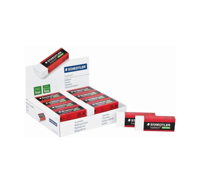 Staedtler PVC Tradition Eraser 20 Pack