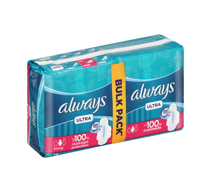 Always Sanitary Pads Duo Long (1 x 14's)