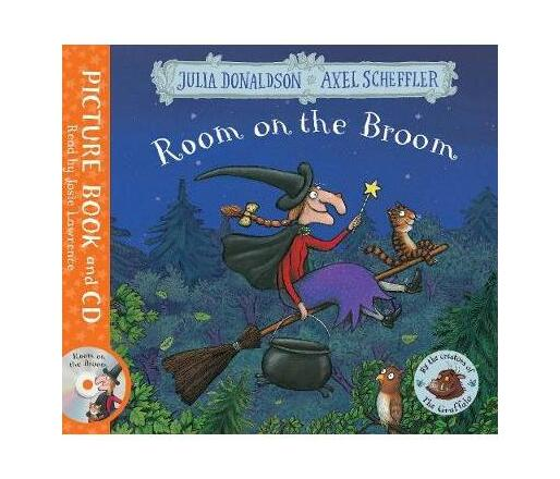 Room on the Broom : Book and CD Pack