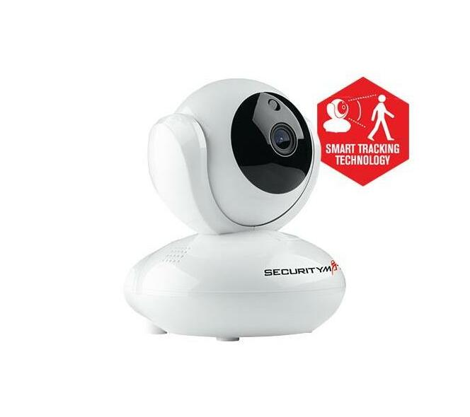 Securitymate 1080P HD IP Camera with Pan & Tilt with Smart ztracker Technology
