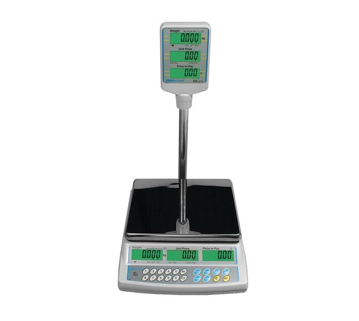 15kg x 5g Price computing scale with Pillar display