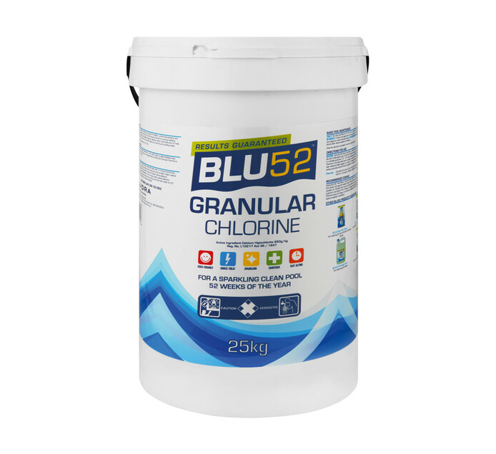 Blu52 25 kg Granular Chlorine