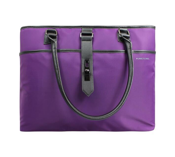 Kingsons Bella Series 15.6` Ladies Bag - Purple