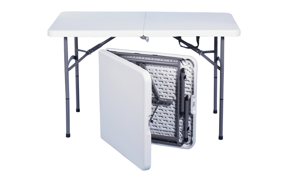 TOTAI Camping - 4ft Foldable Plastic Table