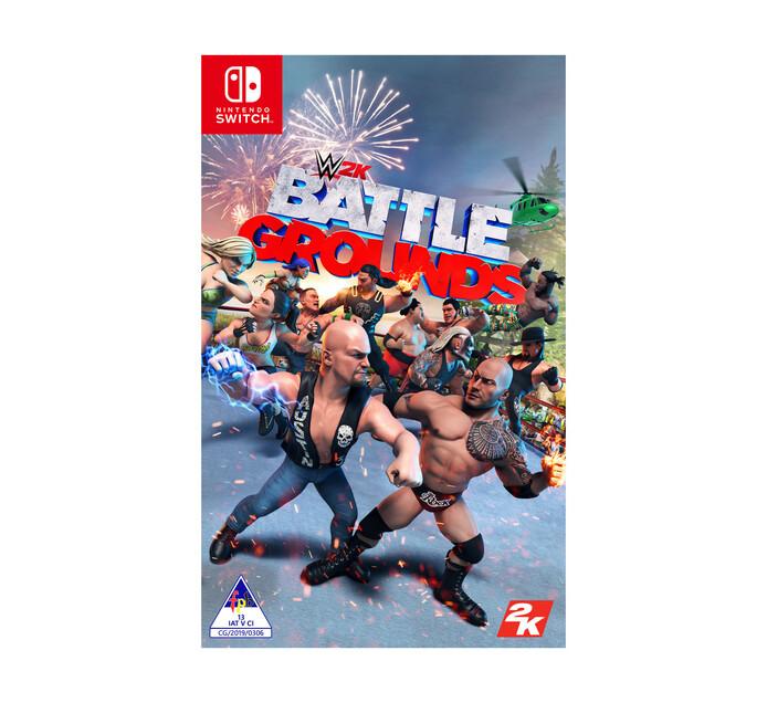Nintendo Switch Wwe Battlegrounds