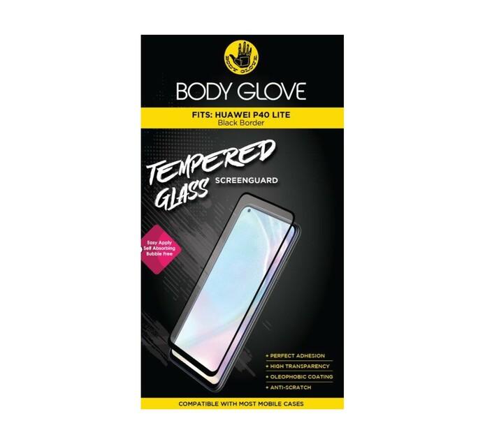 Body Glove Huawei P40 Lite Tempered Glass Black