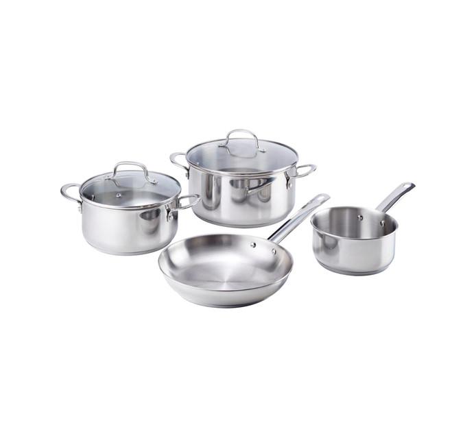Russell Hobbs 6-Piece Stainless Steel Cookware Set