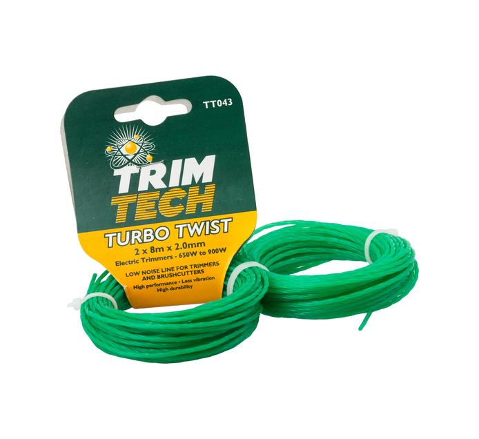 Trimtech 2 mm Turbo Twist Line 2-Pack