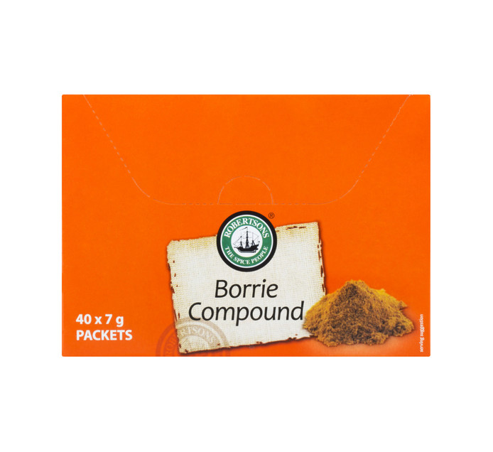 Robertsons Envelope Spices Borrie (40 x 7g)
