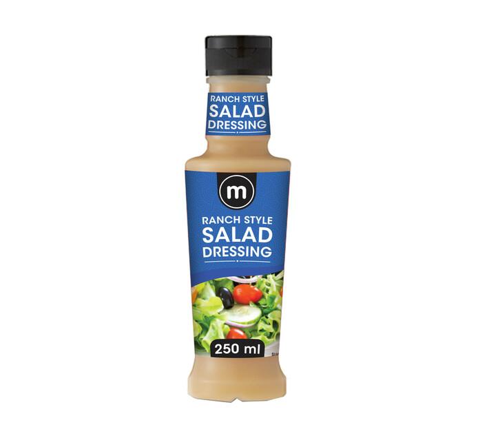M Brand Salad Dressing Ranch Style (1 x 250ml)