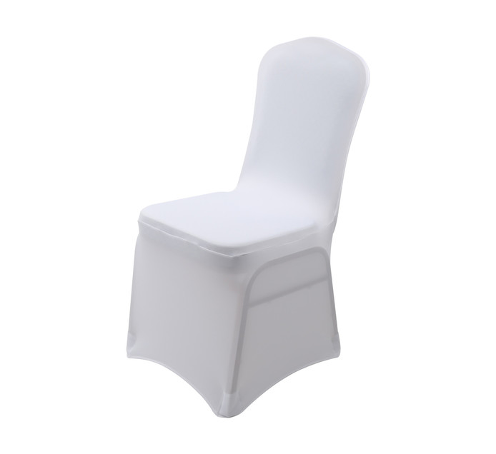 Universal Chair Cover White