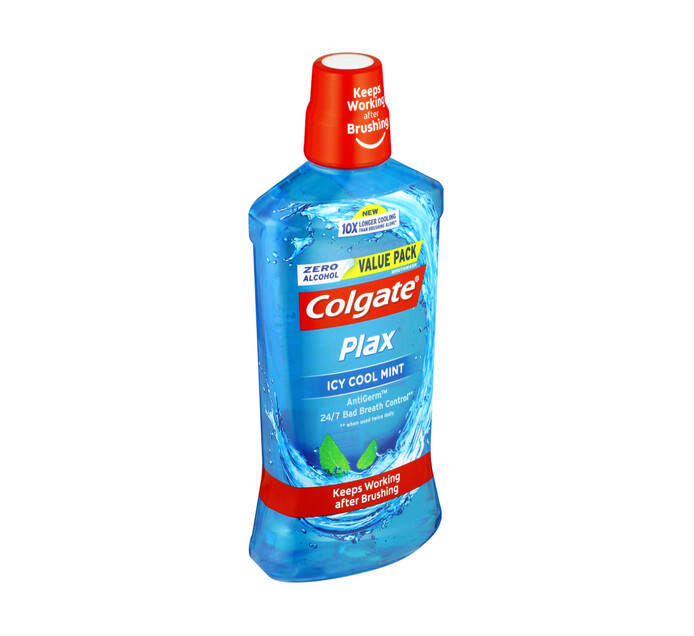 Colgate Plax Mouthwash Icy Cool Mint (1 x 750ml)