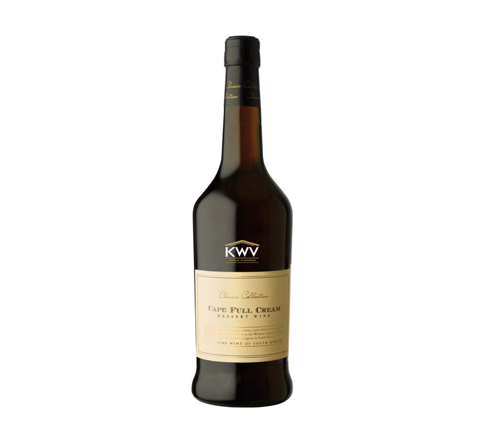 KWV Classic Collection Cape Full Cream Sherry (6 x 750ml)