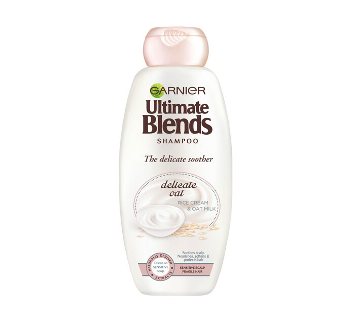 Garnier Ultimate Blend Shampoo Rice Cream & Oat Milk (6 x 400ml)