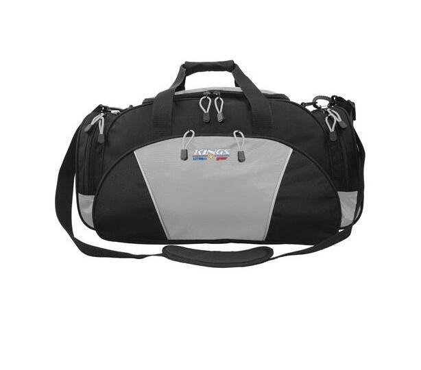 2629 Black/ Grey Kings Urban gear Dome shaped Travel Carry bag