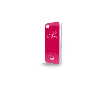 Whatever It Takes Tough Shield iPhone 4/4S Cover (Donna Karan Pink)