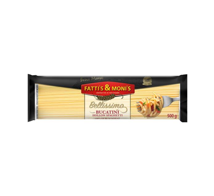 Fatti's & Monis Bellissimo Durum Wheat Pasta Spaghetti Bucatini (1 x 500g)