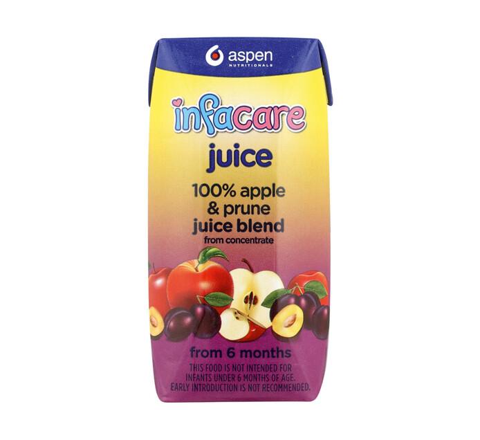 Infacare Fruit Juice Apple & Prune (6 x 200ml)