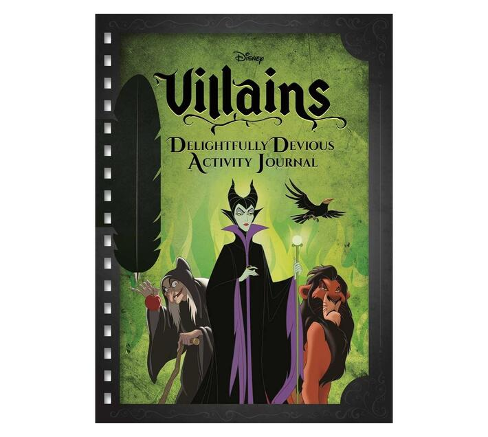 Disney Villains Delightfully Devious Activity Journal