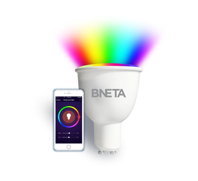 Bneta WI-FI Smart Bulb GU10 RGB