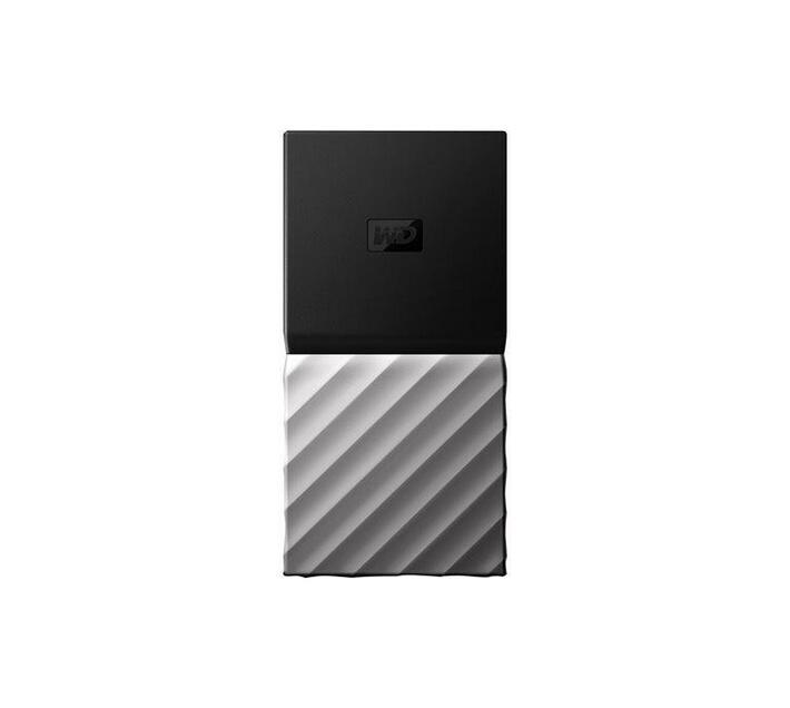 WD My Passport SSD WDBKVX0020PSL - solid state drive - 2 TB - USB 3.1 Gen 2