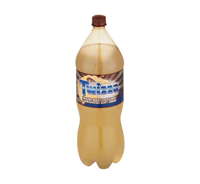Twizza Soft Drink Ginger Beer (1 x 2L)