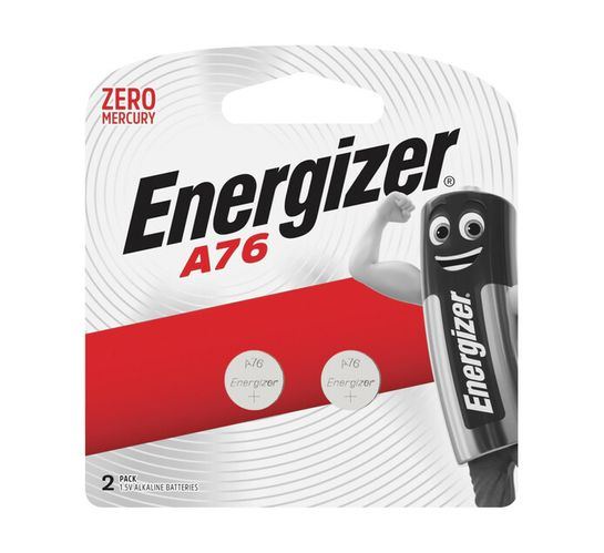 Energizer A76 Batteries 2-Pack