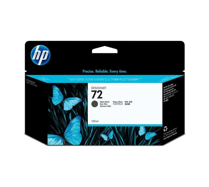 HP 72 - matte black - original - ink cartridge