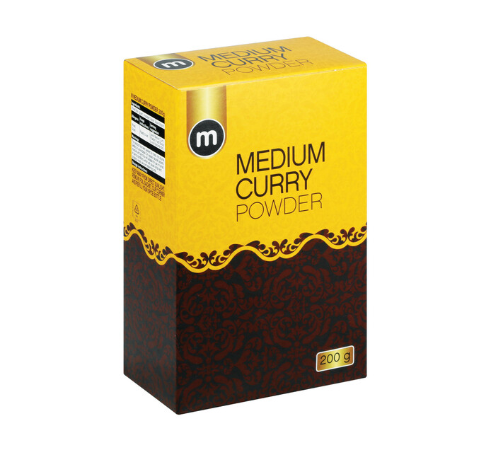 M Brand Curry Powder Medium (1 x 200g)